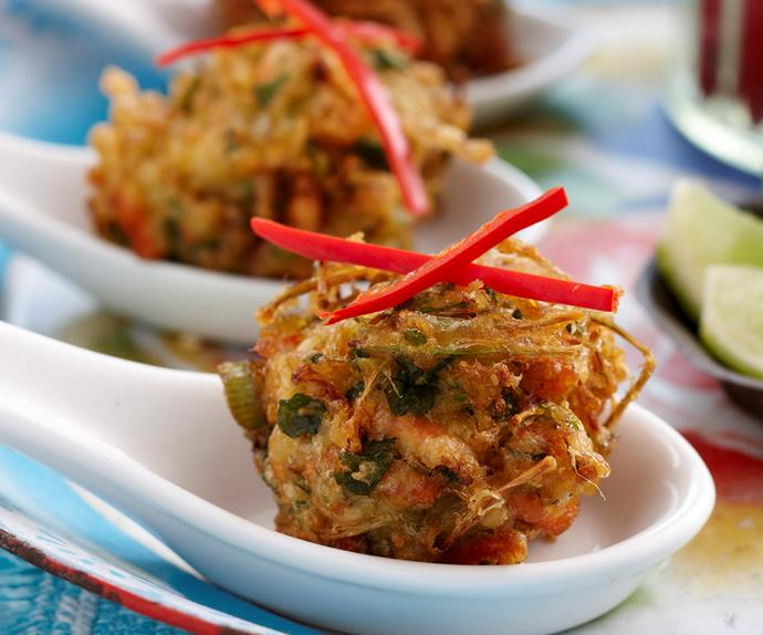 Asian vegetable fritters