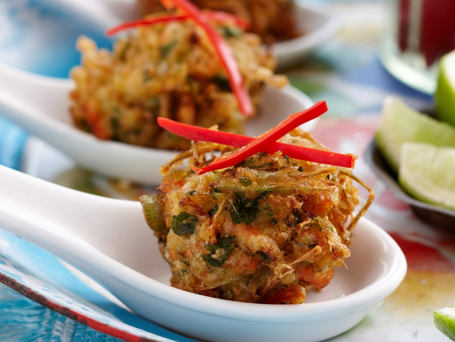"""**[Asian vegetable fritters](https://www.womensweeklyfood.com.au/recipes/asian-vegetable-fritters-25982
