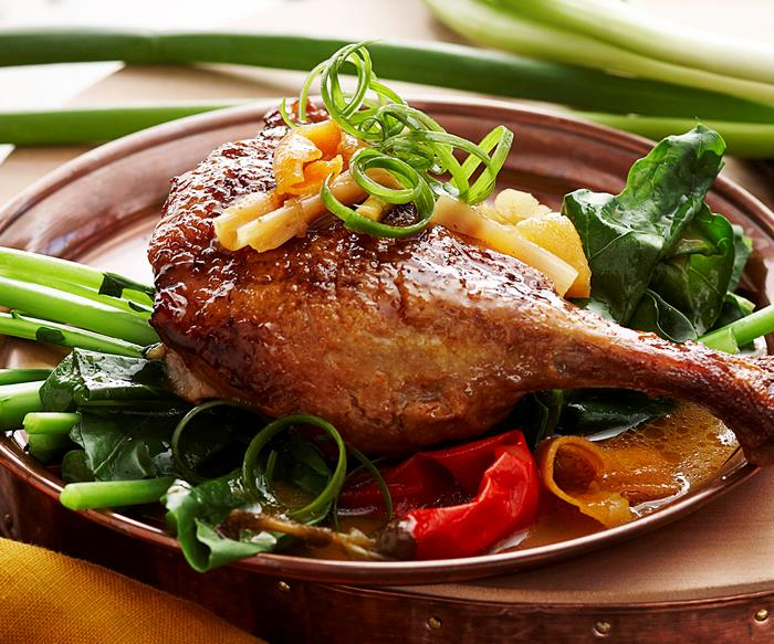 Asian-style duck