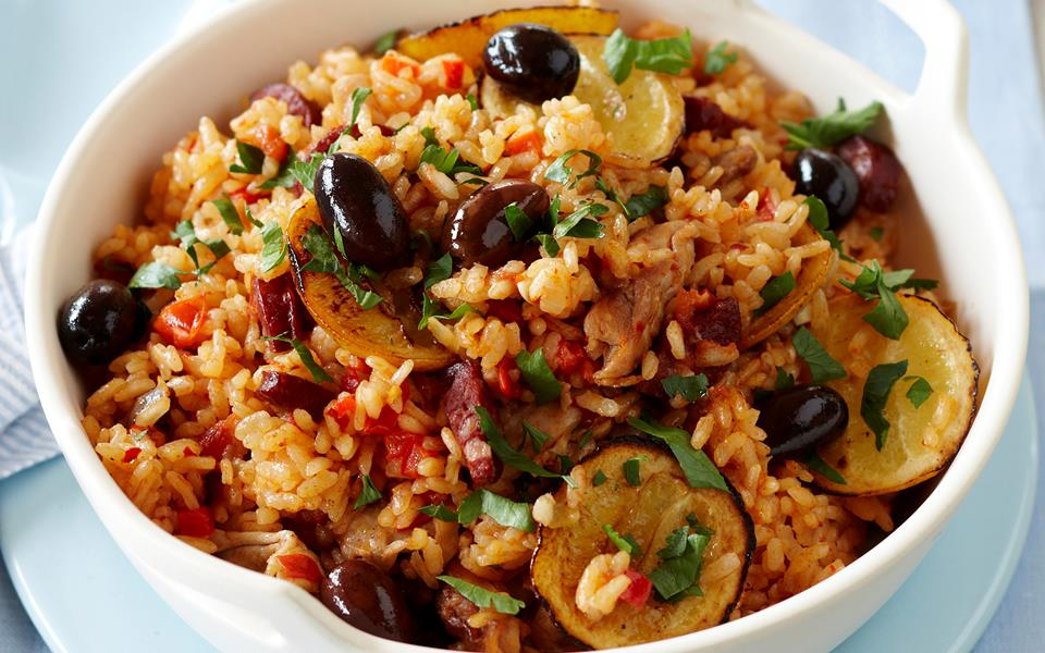 Baked Paella Recipe Food Network