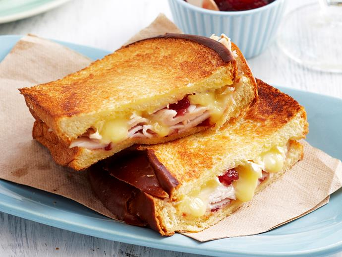 """**[Turkey brioche toasties](https://www.womensweeklyfood.com.au/recipes/turkey-brioche-toasties-18197