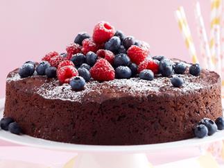 Chocolate and zucchini cake