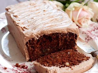 Chocolate hummingbird loaf