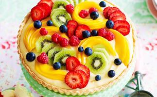 Classic fruit tart