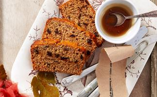 Date, carrot and honey loaf
