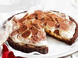 Double chocolate banoffee pie