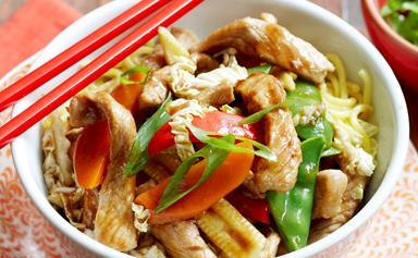 Easy pork stir-fry