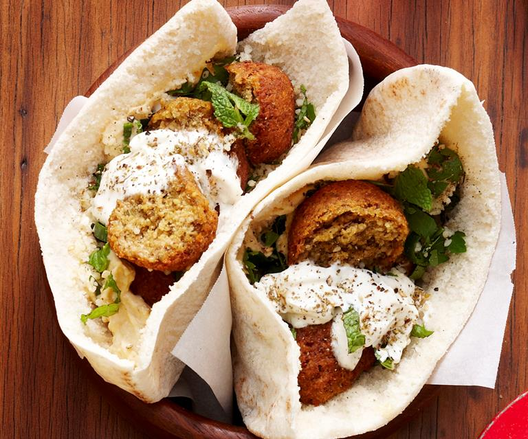 Falafel Pita Pockets Food To Love