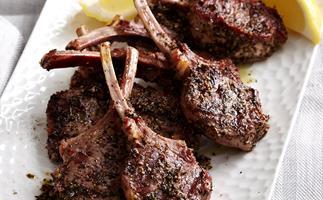 Fragrant lamb cutlets