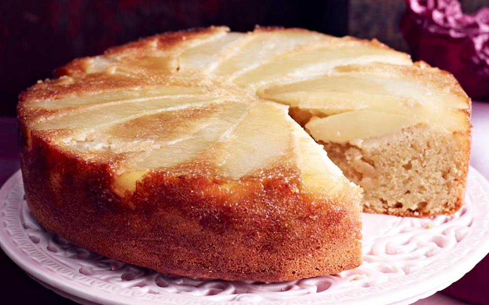 Pear Tea Cake Recipe