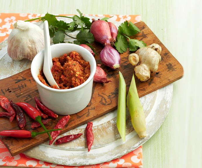 Red Thai curry paste