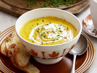 Roasted carrot and cumin soup