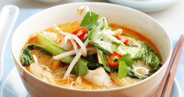 Spicy Coconut Fish Soup Australian Women S Weekly Food