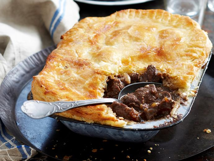 """This hearty family classic, the humble [steak and kidney pie](https://www.womensweeklyfood.com.au/recipes/steak-and-kidney-pie-15783