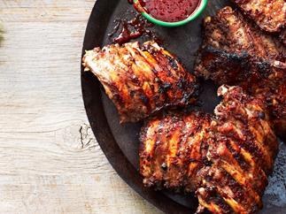 sticky chilli pork ribs 2