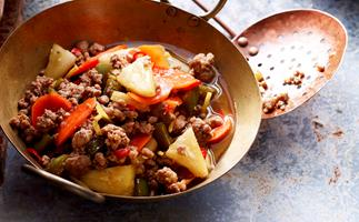 Sweet and sour minced pork