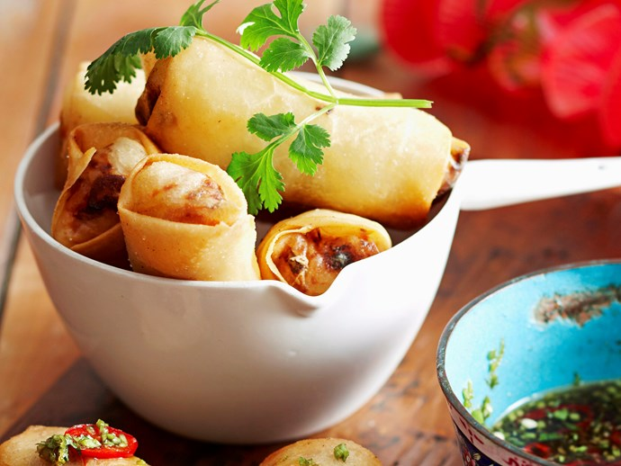 """[Fish and vermicelli spring rolls](https://www.foodtolove.co.nz/recipes/fish-and-vermicelli-spring-rolls-18684