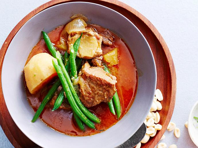 "**[Massaman beef and pineapple curry](https://www.womensweeklyfood.com.au/recipes/massaman-beef-and-pineapple-curry-16873|target=""_blank"")**  This slow-cooked beef curry is a perennial favourite in Thai restaurants. When you cook it at home, it may take a while but the aroma and melt-in-the-mouth flavour makes the time spent worthwhile."