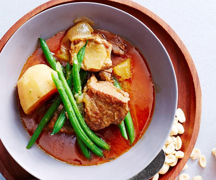 Massaman beef and pineapple curry