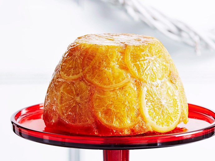 Orange steamed pudding