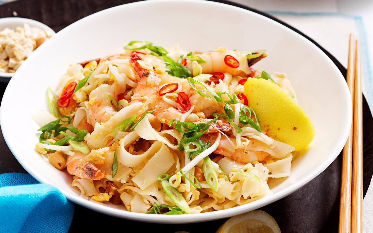 Spicy Prawn Pad Thai Recipe Recipe Food To Love