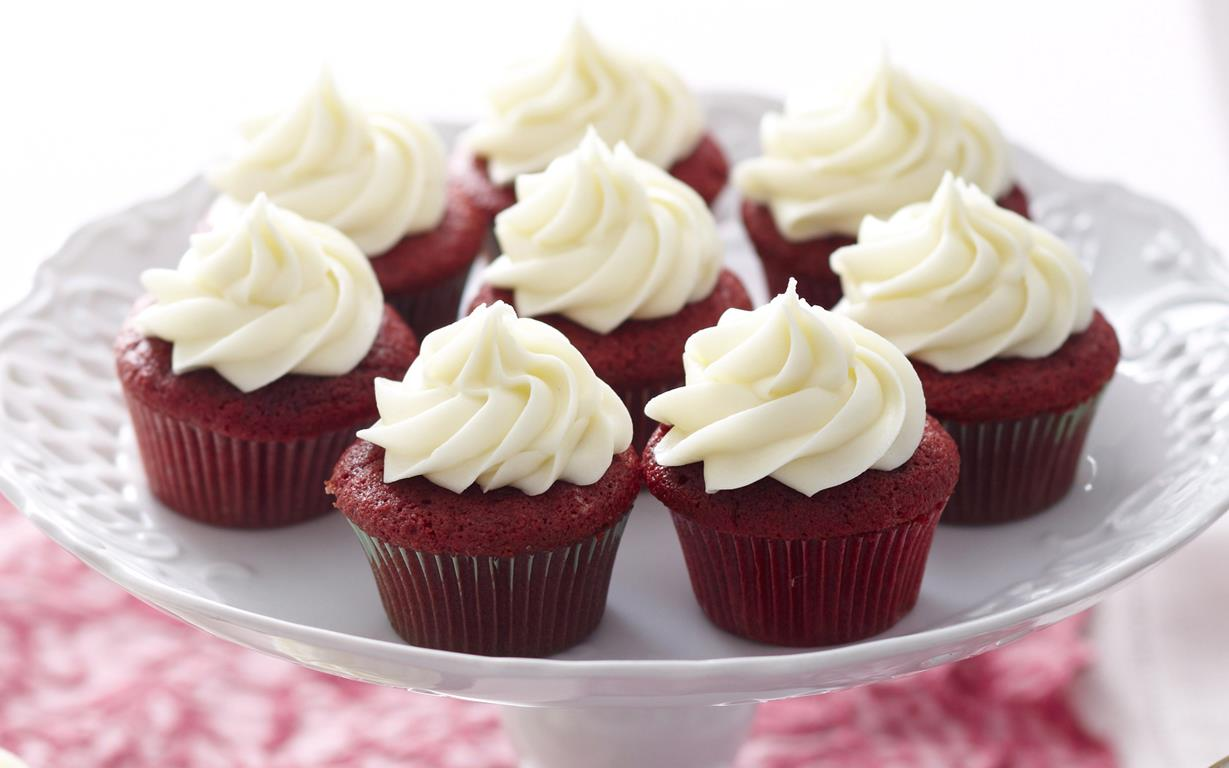 Image result for red velvet cupcake