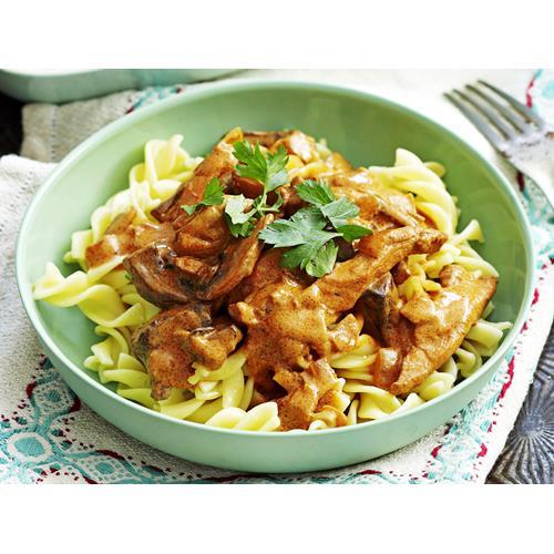 Chicken Stroganoff With Pasta Recipe Food To Love
