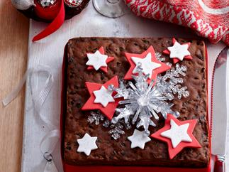 Traditional Christmas cake