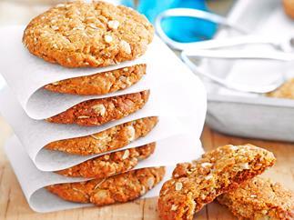 True blue ANZAC biscuits