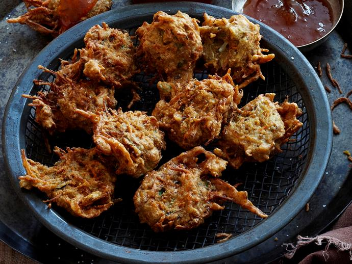 "Upgrade your garden variety vegetable fritter to an altogether more exotic version with this [vegetable bhaji](https://www.womensweeklyfood.com.au/recipes/vegetable-bhaji-16628|target=""_blank""). Add dollop of mango chutney and you'll be in heaven."