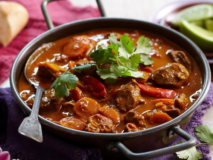 "Packed full of flavour and spice, this [hearty beef curry](https://www.womensweeklyfood.com.au/recipes/vietnamese-beef-curry-16642|target=""_blank"") has a brilliant Vietnamese twist."