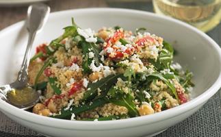 Sugar Snap Pea and Chickpea Salad