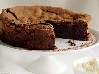 Chocolate, Coffee and Hazelnut Cake