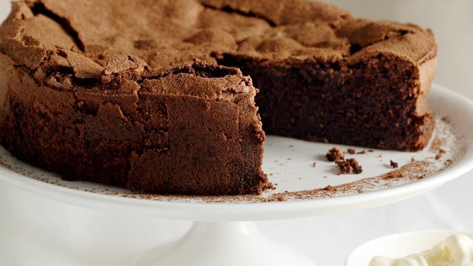 Chocolate, Coffee and Hazelnut Cake