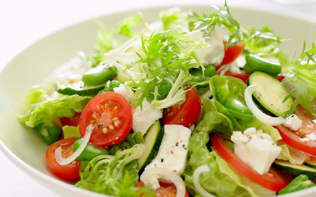 feta garden salad recipe food to love