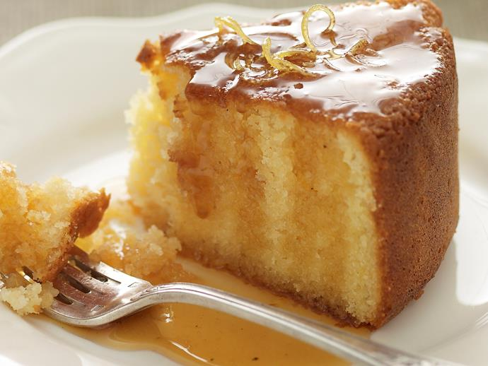 "**[Almond and yogurt lemon cake](https://www.womensweeklyfood.com.au/recipes/almond-and-yogurt-lemon-cake-28356|target=""_blank"")**  Fluffy, moist and packed full of flavour."