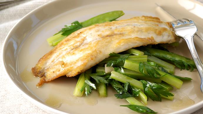 Celery Stir-Fry with Barramundi