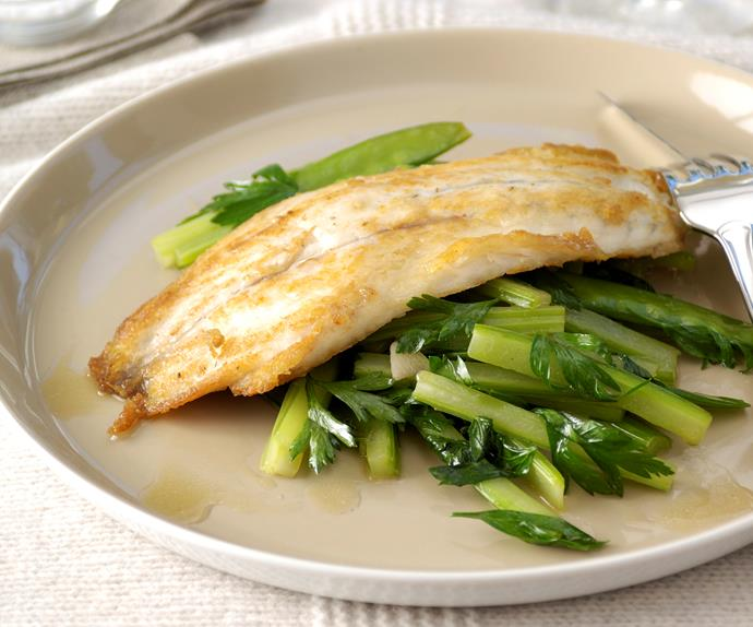 Celery Stir-Fry with Barramundi