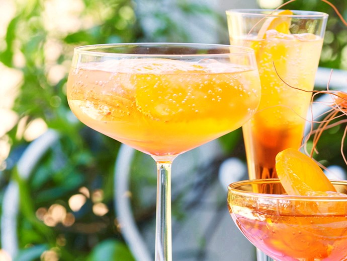 """In Australia we're lucky to have long warm summer evenings in February to celebrate romance. Sipping an [Aperol spritz](https://www.womensweeklyfood.com.au/recipes/aperol-spritz-29622 target=""""_blank"""") while the sun goes down is a wonderful way to spend Valentine's Day."""