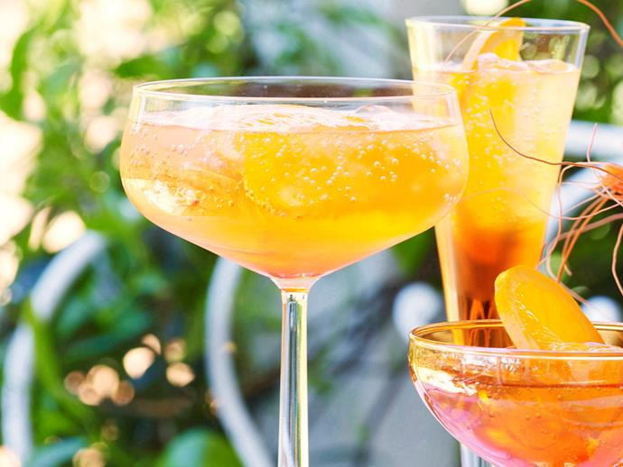 "**[How to make an Aperol spritz](https://www.womensweeklyfood.com.au/recipes/aperol-spritz-29622|target=""_blank"")**  The perfect cocktail to sip on a warm summer afternoon."