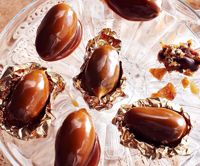 Caramel toffee dates