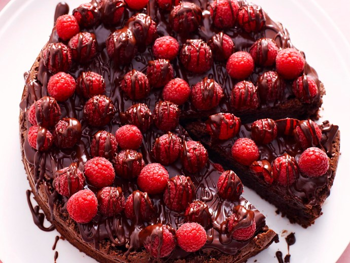 "**[Chocolate and raspberry cake recipe.](http://www.foodtolove.com.au/recipes/chocolate-and-raspberry-cake-7384|target=""_blank"")**"
