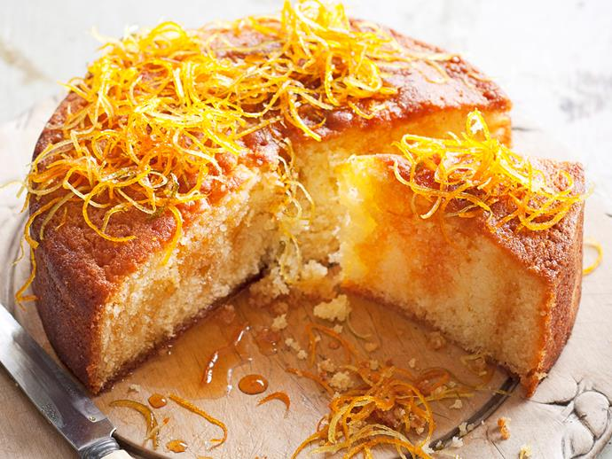 """**[Citrus syrup cake](https://www.womensweeklyfood.com.au/recipes/citrus-syrup-cake-27096