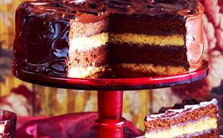 double-decker mud cake