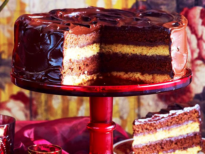"""**[Double-decker chocolate mud cake](https://www.womensweeklyfood.com.au/recipes/double-decker-mud-cake-9001