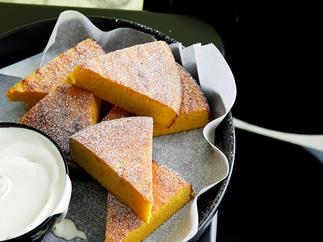 MANDARIN ALMOND CAKE