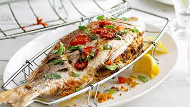 How to cook a whole snapper