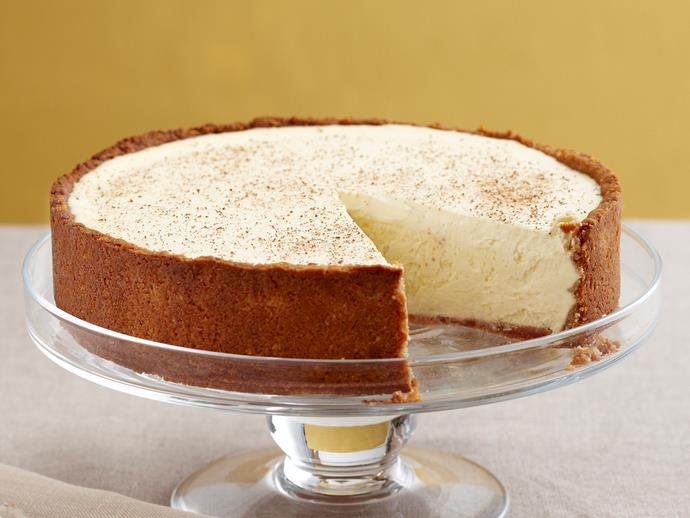 """**[Bistro cheesecake](https://www.womensweeklyfood.com.au/recipes/bistro-cheesecake-26688