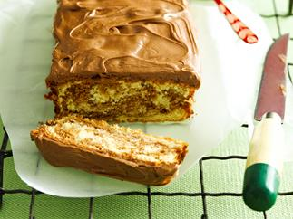 Chocolate and orange tea loaf