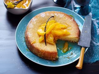 Citrus and Semolina Cake